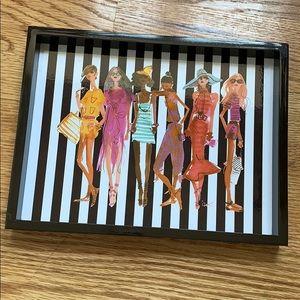 Henri Bendel Girls Vanity Tray